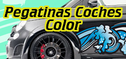 Pegatinas Coches Tuning Color