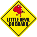 Pegatina Little Devil on Board - bab006