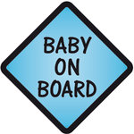 Pegatina Baby on Board Azul - bab013
