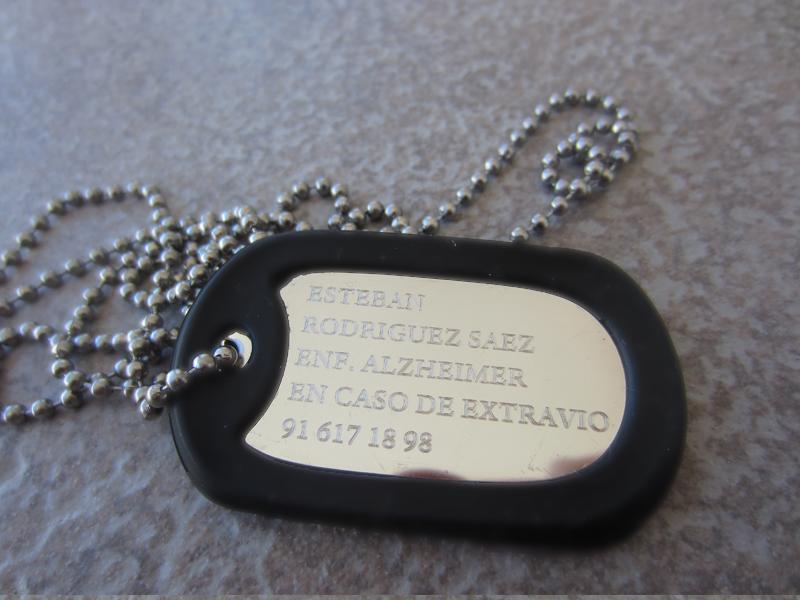 6b9fbc84af64 ... Placa Militar - Chapa Ejercito - Grabado por Dos Caras ...